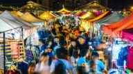 Rod Fai Night market time lapse