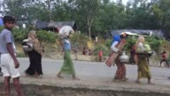 COX'S BAZAR BANGLADESH SEPTEMBER 11 Rohingya Muslims who fled their homes in western Myanmar's Rakhine state due to the ongoing operations conducted...