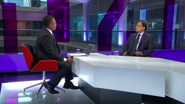 Rohingya refugee crisis escalates and boat capsizes off Bangladesh ENGLAND London GIR INT Mohammed Nazmul Quanine LIVE STUDIO interview SOT