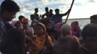 Rohingya refugees cross river by boat Shahporir Dip Bangladesh September 14 2017 Aung San Suu Kyi said September 19 she does not fear global scrutiny...