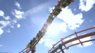 Roller coaster spinning