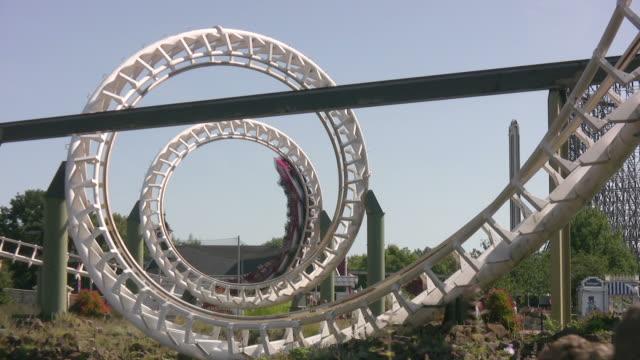Rollercoaster Corkscrew HD