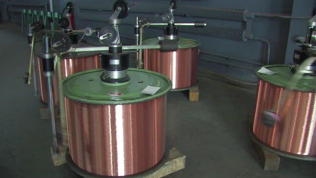 rollers copper wire