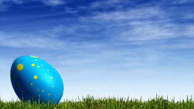 Rolling Easter Egg