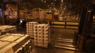 Rolls of aluminum sheet sit ahead of distribution at the Irkutsk aluminium smelting plant operated by United Co Rusal in Shelekhov Russia on Monday...