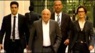 Roman Abramovich wins legal battle against Boris Berezovsky ENGLAND London London Commercial Court MOTION shot of Boris Berezovsky along and into...