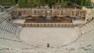 WS TU Roman amphitheater in Amman / Jordan
