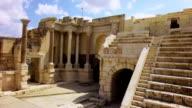 Römisches amphitheater des alten Samaria