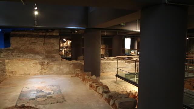 Roman Barcino, Roman remains, Barcelona, Spain.