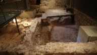 Roman Barcino, Roman remains, Barcelona, Spain.
