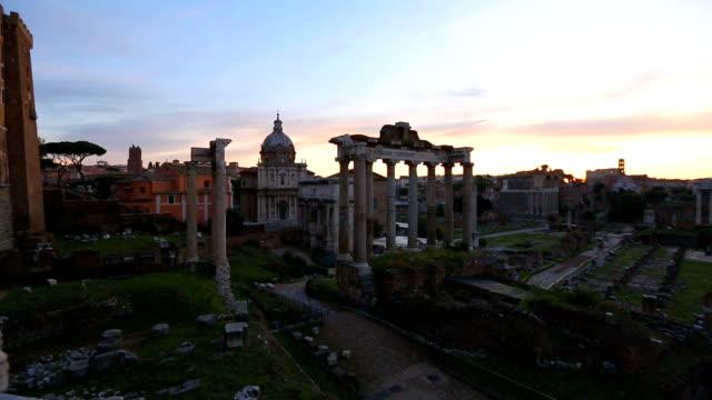 Roman forum landmark