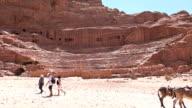Roman Theatre - Petra, Jordan