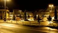 Romania, Brasov, time lapse