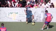 Romania won the Neymar Jr Five a side on Saturday one of the world's largest amateur football tournaments in the world which took place in Praia...