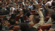 Romania's parliament voted Friday to impeach President Traian Basescu in a spiralling political crisis that has raised warnings in the West that the...