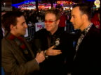 Romantic comedy 'It's a Boy Girl Thing' premieres at Leicester Square ENGLAND London Leicester Square PHOTOGRAPHY * * Elton John LIVE interview SOT I...