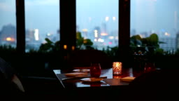 Dinner Table Background crane shot of dining table background stock footage video | getty