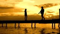 Romantic pier