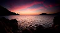 Romantic Sky over Sea