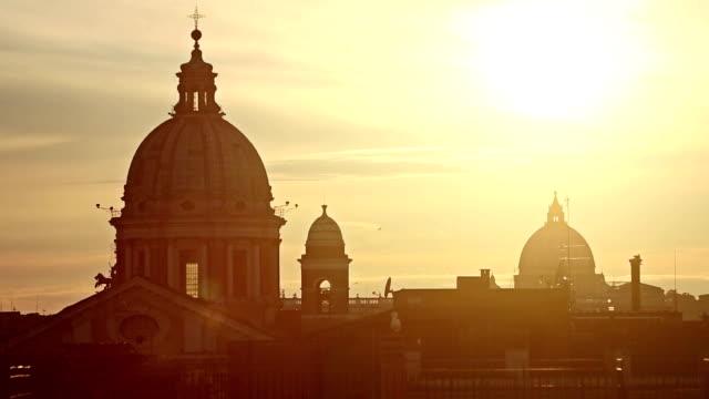 Rom Dome von der Pincio Hill