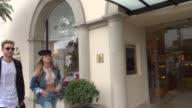 Romee Strijd shopping in Beverly Hills in Celebrity Sightings in Los Angeles