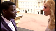 Romeo and Juliet musical to be performed at Buckingham Palace EXT Tamsin Egerton and Daniel Kaluuya rehearsing balcony scene from Romeo and Juliet...