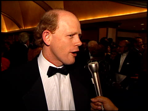 Ron Howard at the Directors Guild Awards Arrivals at the Century Plaza Hotel in Century City California on March 8 1997