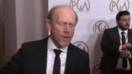 INTERVIEW Ron Howard on the event Arrested Development at 25th Annual Producers Guild Awards at The Beverly Hilton Hotel on in Beverly Hills...