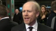 Ron Howard speaks about Rush during red carpet interview at the BAFTAs 2014