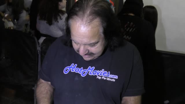 INTERVIEW  Ron Jeremy talks about New York Times story on how Donald Trump measures up to him arriving to the AVN Awards Nomination Party at Avalon...