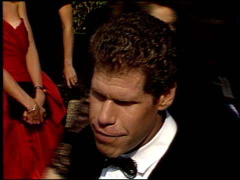 Ron Perlman at the 1988 Emmy Awards Outside at the Pasadena Civic Auditorium in Pasadena California on August 27 1988