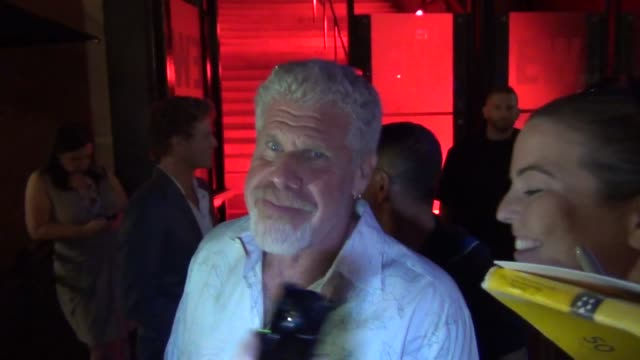 Ron Perlman greets fans on streets of San Diego Comic Con at Celebrity Sightings ComicCon International 2013 Celebrity Sightings ComicCon...