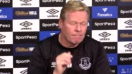 Ronald Koeman challenges his Everton side to bounce back from recent difficult results ahead of their trip to Old Trafford this weekend