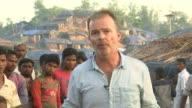 Ronhingya refugee crisis worsens BANGLADESH EXT Reporter to camera