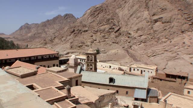 WS HA ZO Rooftops of St Catherine's Monastery, Mount Sinai, Egypt