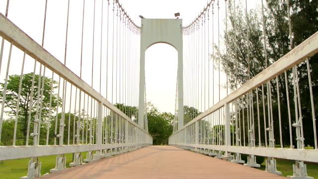 Rope bridge at Nong Pra Jak Park