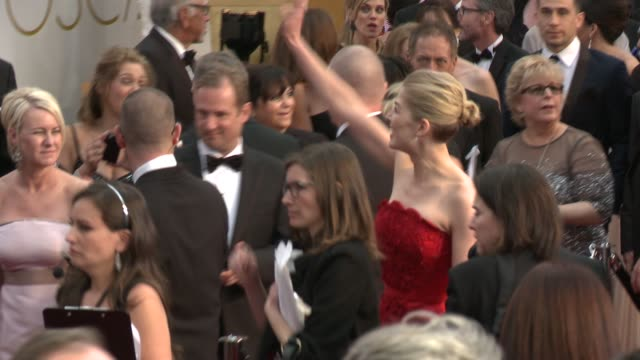 Rosamund Pike at 87th Annual Academy Awards Arrivals at Dolby Theatre on February 22 2015 in Hollywood California