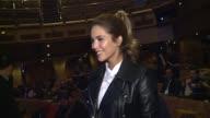 Rosanna Zanetti attends the presentation David Bisbal's new album 'Hijos del Mar' in a cruise ship