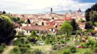 Rose garden - Florence, Tuscany Italy
