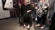 Rose Marie at the Viewing QA of Rose Marie Wait For Your Laugh at Aero Theatre in Santa Monica Celebrity Sightings on August 3 2017 in Los Angeles...