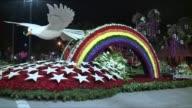 KTLA Rose Parade Float Preparations in Pasadena