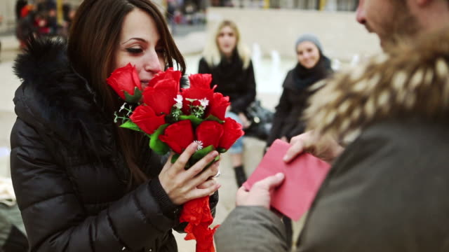 Roses for her at Valentine's day