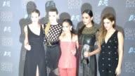 Rosie HuntingtonWhiteley Abbey Lee Zoe Kravitz Courtney Eaton Riley Keough at 21st Annual Critics' Choice Awards in Los Angeles CA