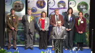 Ross Skye and Lochaber General Election declaration Ian Blackford of Scottish National Party announced winner Liberal Democrat Charles Kennedy looses...