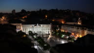 WS HA Rossio Square at night / Lisbon, Portugal
