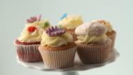 Rotating cupcakes