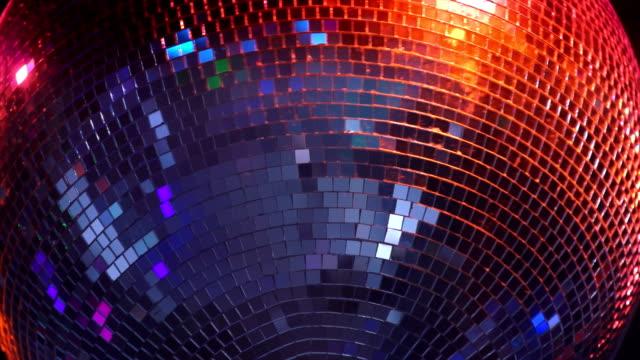 Rotating Disco Ball Close-up (Loopable)
