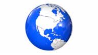 Rotierende Globus