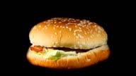 Rotating hamburger