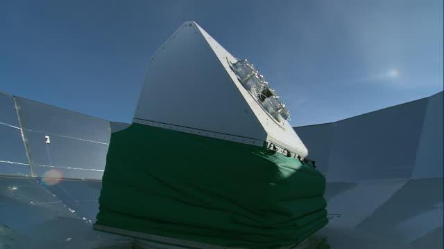 MS DASI rotating its face into the sunlight / Antarctica